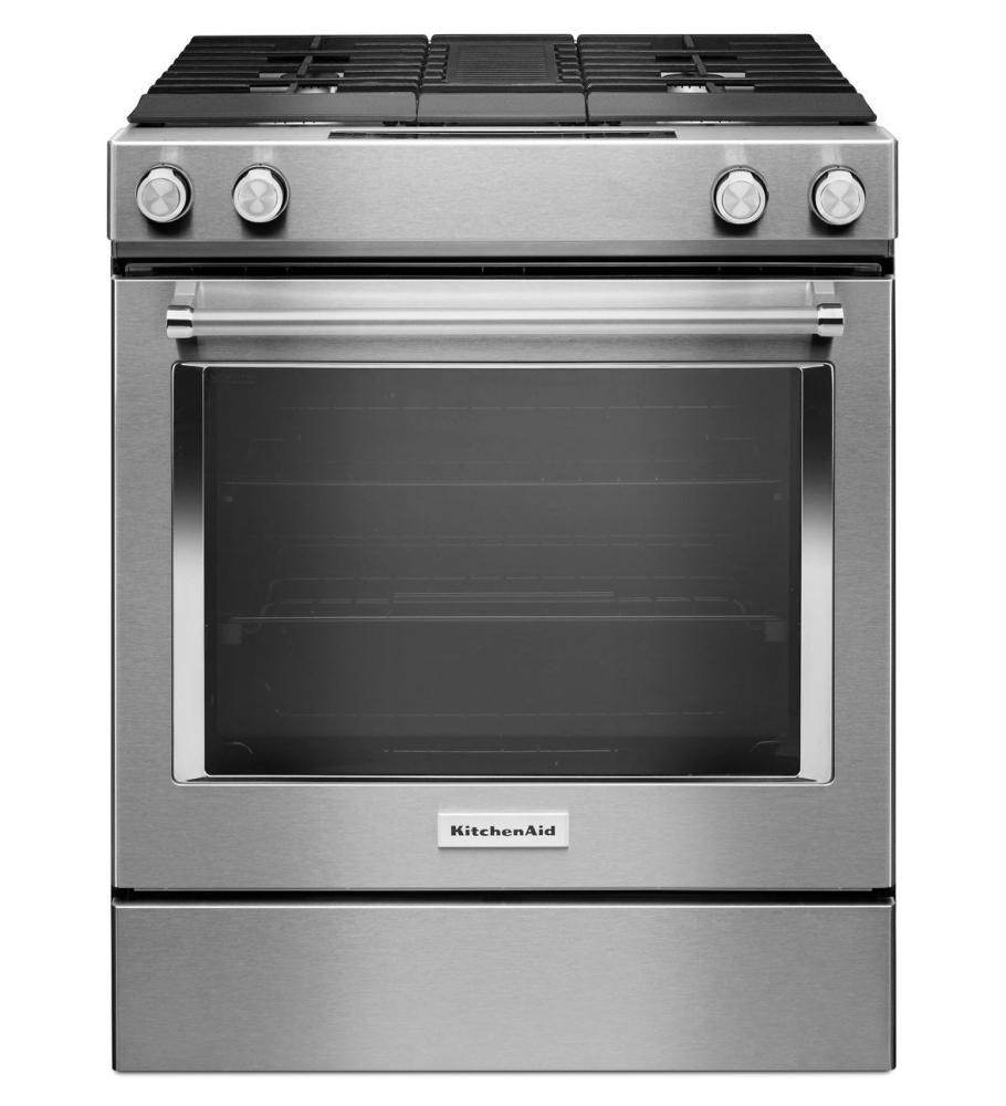 30 inch 4 burner dual fuel downdraft slide in range for What is a downdraft range