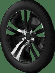 Default car rim (front, passenger)
