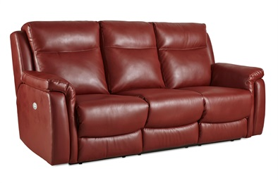 Uptown Leather Double Reclining Sofa