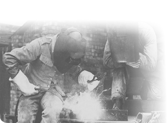 Welding is a tradition of hard work and precision