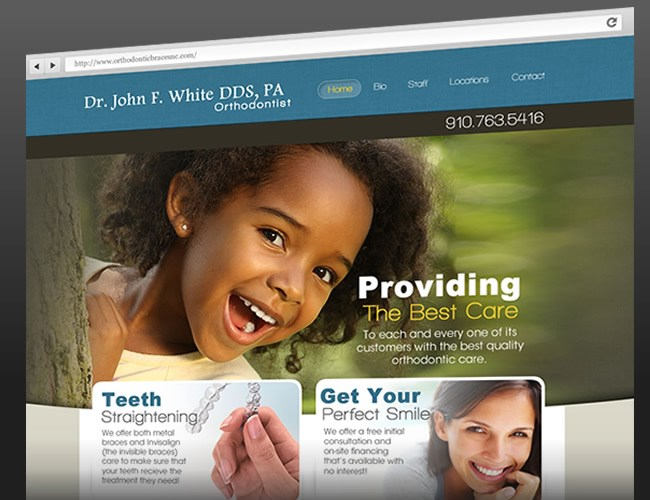 Website Design- Dr. John White DDS