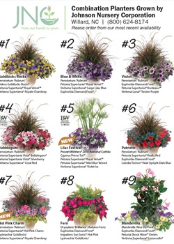 Combination Planter Chart