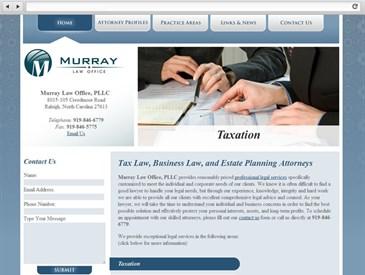 Murray Law Office - Web Design