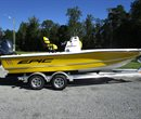 2017 Epic Bay Boat 22 Yellow New Boat