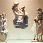 Lladro One For You, One For Me available at Albert F. Rhodes Jewelers