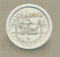 Beach House Wine Bottle Coaster