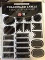 Chalkboard Labels S/72 Small