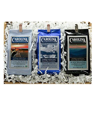 Carolina Coffee Coffee Trio Gift Box