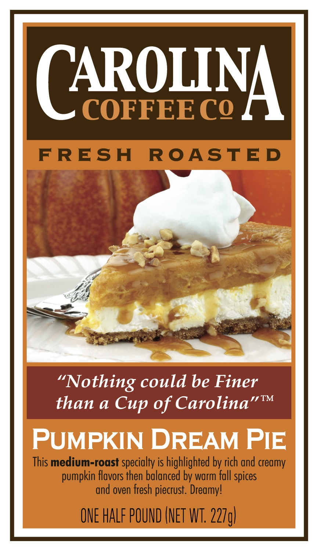 Carolina Coffee Pumpkin Dream Pie