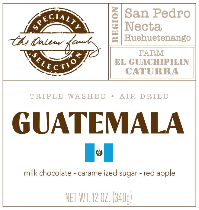 Carolina Coffee Guatemala Finca El Guachipilin