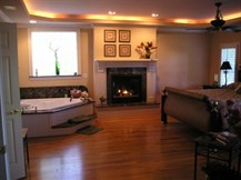 Elegant Master Suite Fireplace