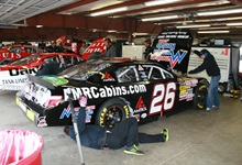 NASCAR K&N race at New Hampshire Motor Speedway with American Mountain Rentals, October 30 2012