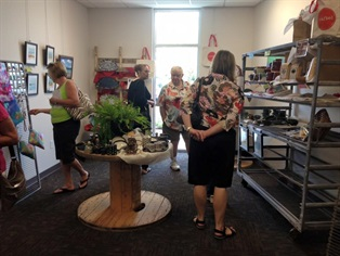 Crafted market during Fall Open House 2015
