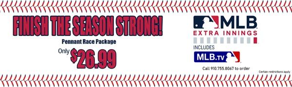 MLB - Finish the Season Strong!
