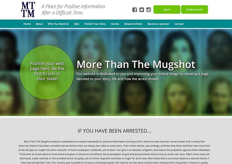 More Than The Mugshot