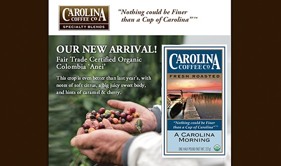 Carolina Coffee Newsletter