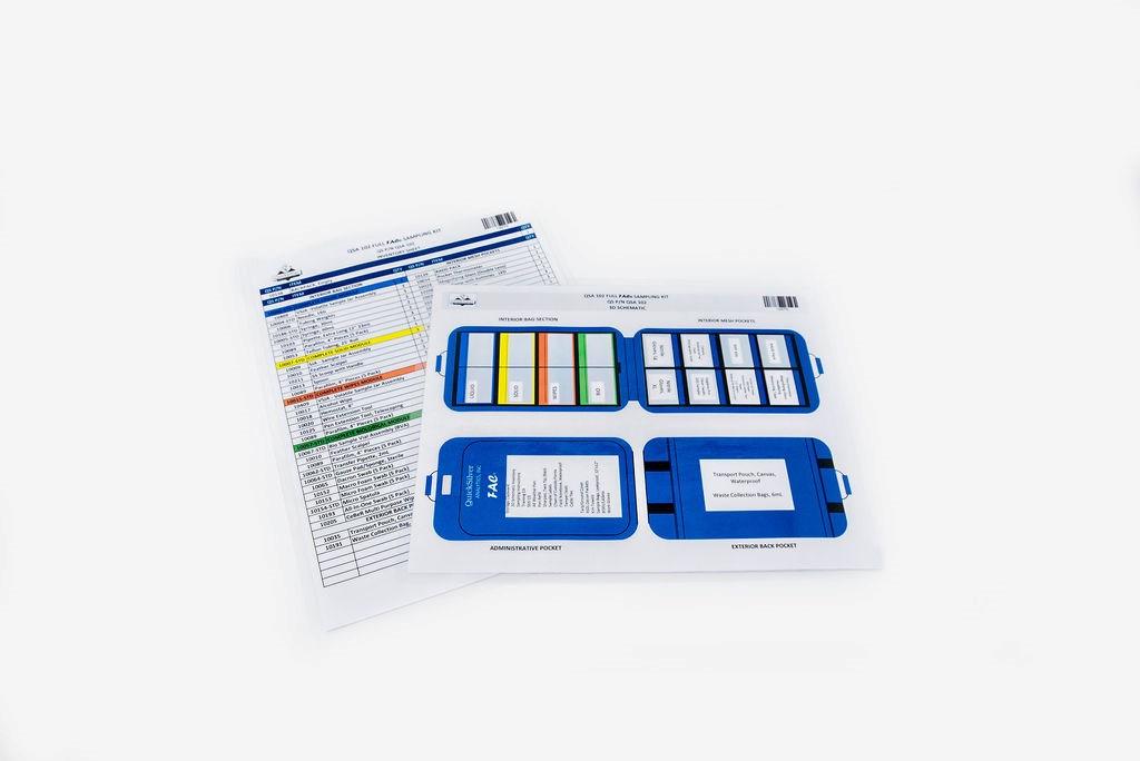 Standard QSA 102 Inventory Schematic, TRAINING