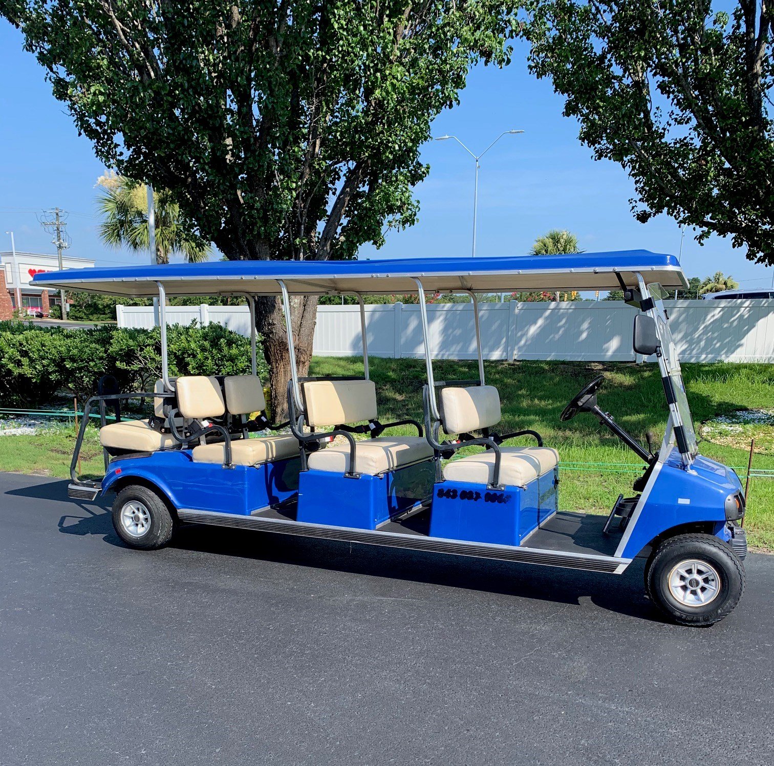 WINTER CLOSE OUT 2009 Club Car DS Gas Cart 8PR *2 AVAILABLE!*