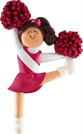 OR-6 Cheerleading Ornament Red
