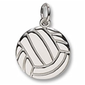 CHV - Sterling Silver Volleyball Charm