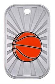 GI-BB - Basketball Dogtag