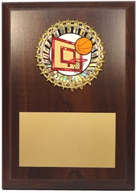 PBMM 5 x 7 Basketball Plaque