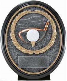 CAT-690 - Golf Resin Trophy