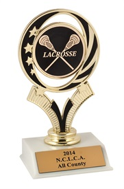 JST - 6 inch Lacrosse Trophy ***As low as $4.95***