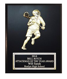 MCP810F Lacrosse Plaque