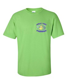 100% Cotton Lime Green T-shirt Order due by Friday, May 24, 2019