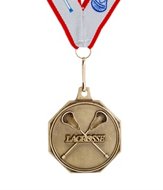 MDL-2 - Crossed Stick Medal ***As low as $1.99***