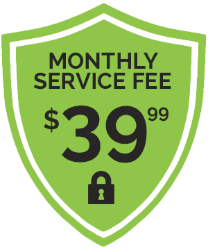 Monthly Service Fee $39.99