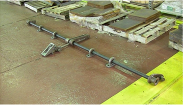 The Lock & Load system, a manually operated railcar door mechanism