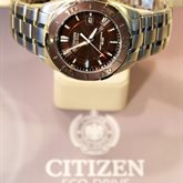 Citizen Watch…Fueled by Light available at Albert F. Rhodes Jewelers
