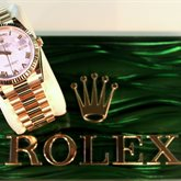 Rolex For Life's Milestones available at Albert F. Rhodes Jewelers