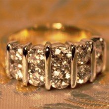 Diamond Ring available at Albert F. Rhodes Jewelery