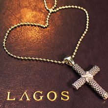 Lagos Lagos Diamond Cross Pendant available at Albert F. Rhodes Jewelery