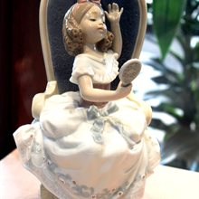 Lladro Awaiting My Sweetheart available at Albert F. Rhodes Jewelery