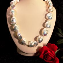 Freshwater Baroque Pearl Strand available at Albert F. Rhodes Jewelery