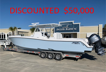 2019 Invincible 39 Open Fisherman Ice Blue-DISCOUNTED $50,000! Boat