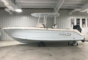 2019 Robalo R242 Explorer Ice Blue liquid-unknown-field [type] Boat