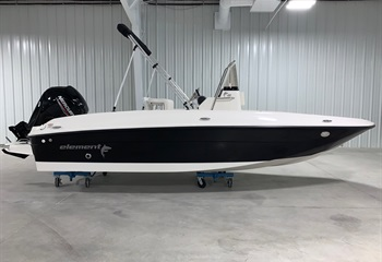 2021 Bayliner Element F18 Black/White Boat