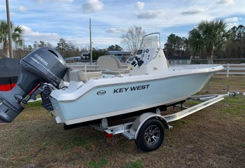 2021 Key West 189 FS Ice Blue/White Boat