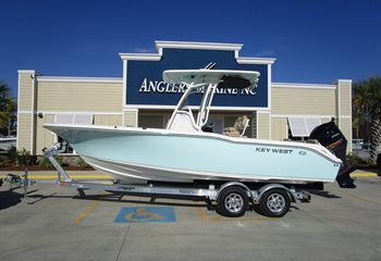 2020 Key West 239 FS Sea Foam Green liquid-unknown-field [type] Boat