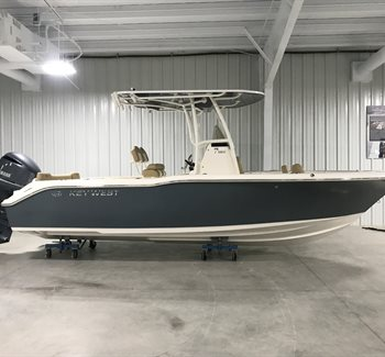 2019 Key West 239 FS Slate Grey New Boat