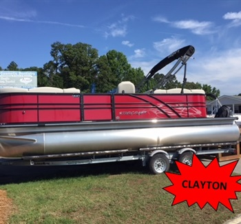 2019 Starcraft Pontoon SLS3 Red (Clayton) liquid-unknown-field [type] Boat