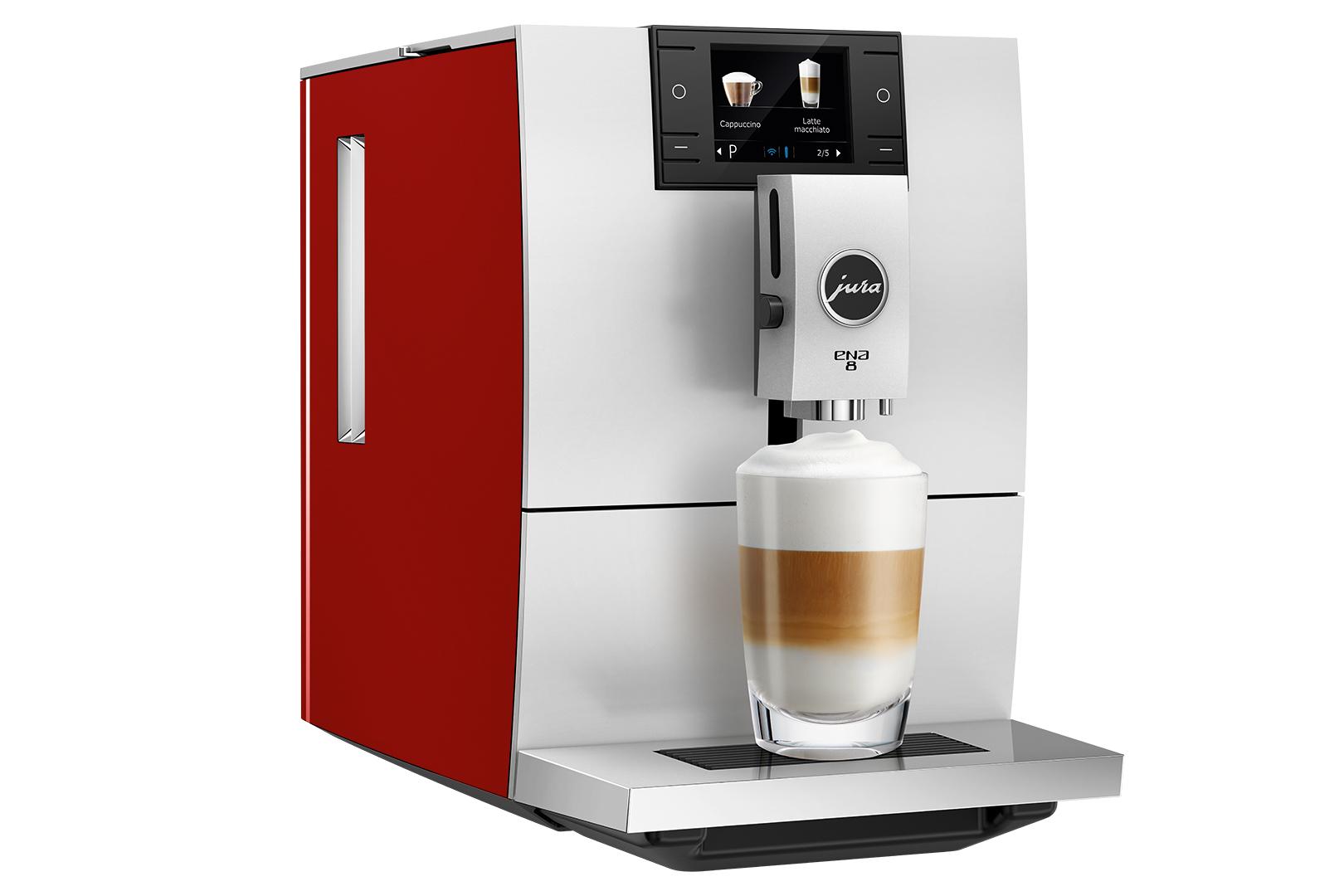 Carolina Coffee Jura ENA 8 - Sunset Red