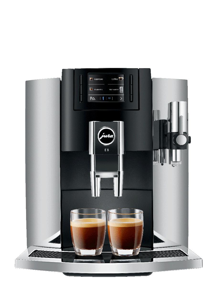 Carolina Coffee Jura E8 Chrome