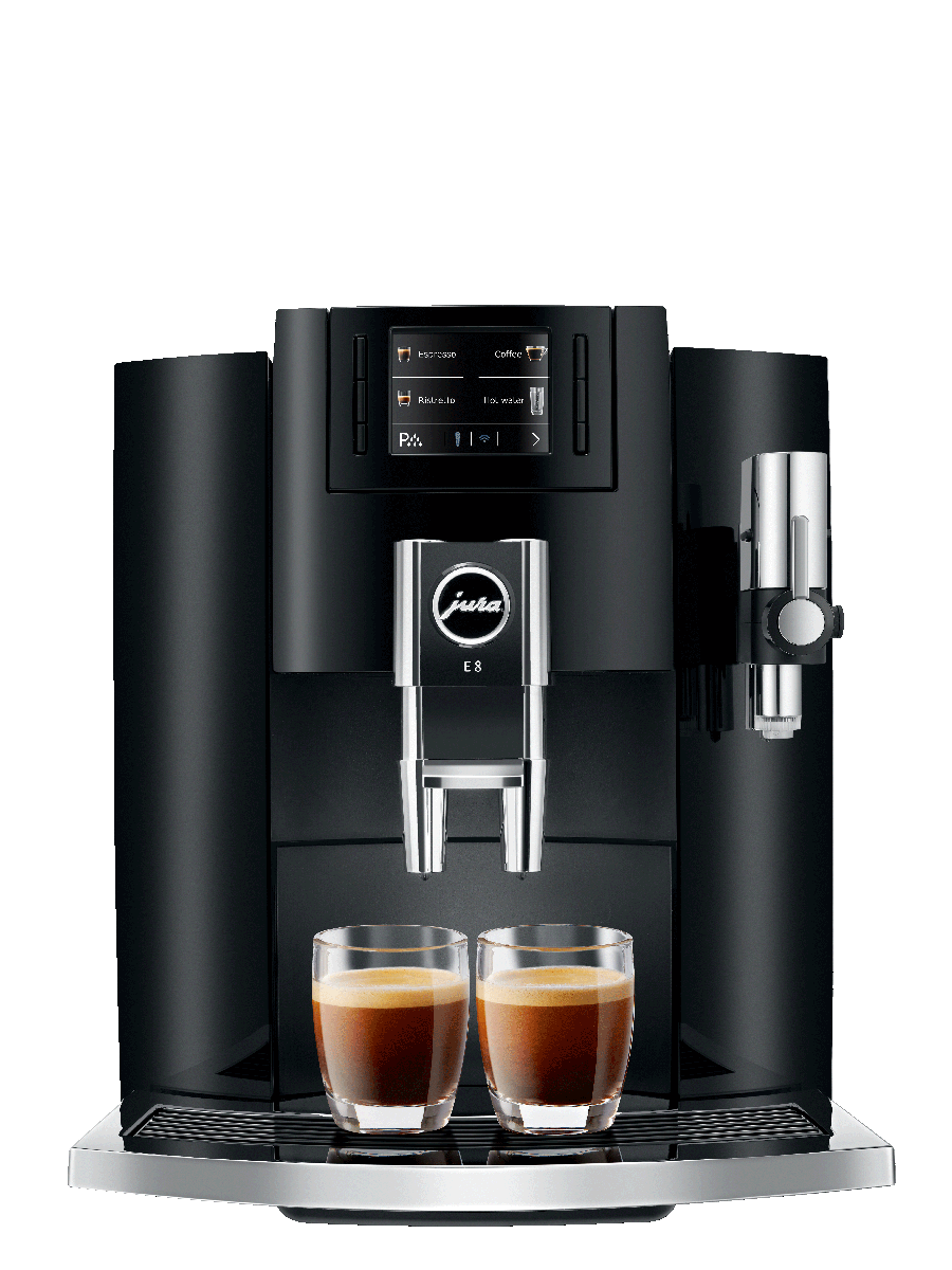 Carolina Coffee Jura E8 Piano Black