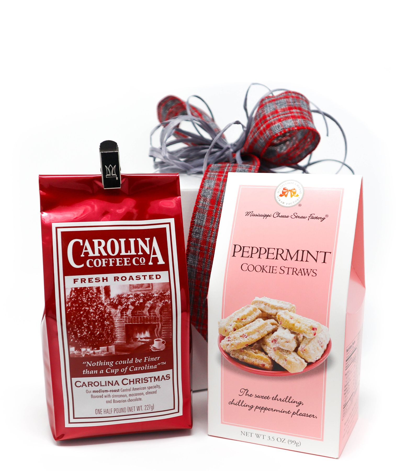 Carolina Coffee Coffee and Peppermint Cookie Straws